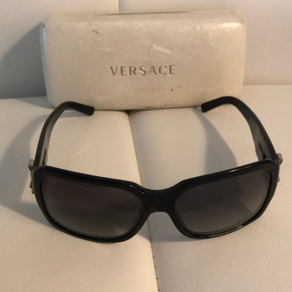 739fd8f5609b Versace sunglasses with hard case with bow detail